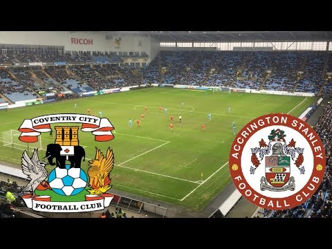 MATCHDAY EXPERIENCE Coventry City VS Accrington Stanley 10/02/2018