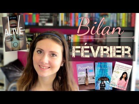Bilan février  | Marine's books