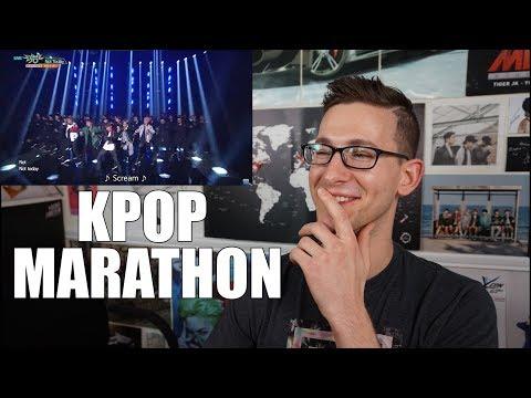 KPOP REACTION MARATHON!