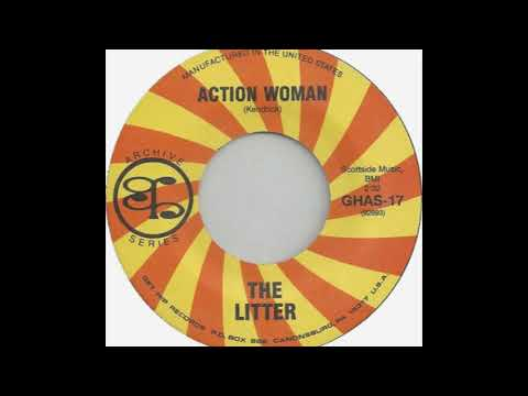 The Litter ‎– Action Woman