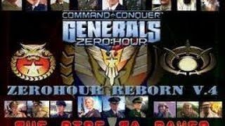 How NOT to play with Nuke General - Generals Zero Hour Reborn v4.0 Rise to Power mod