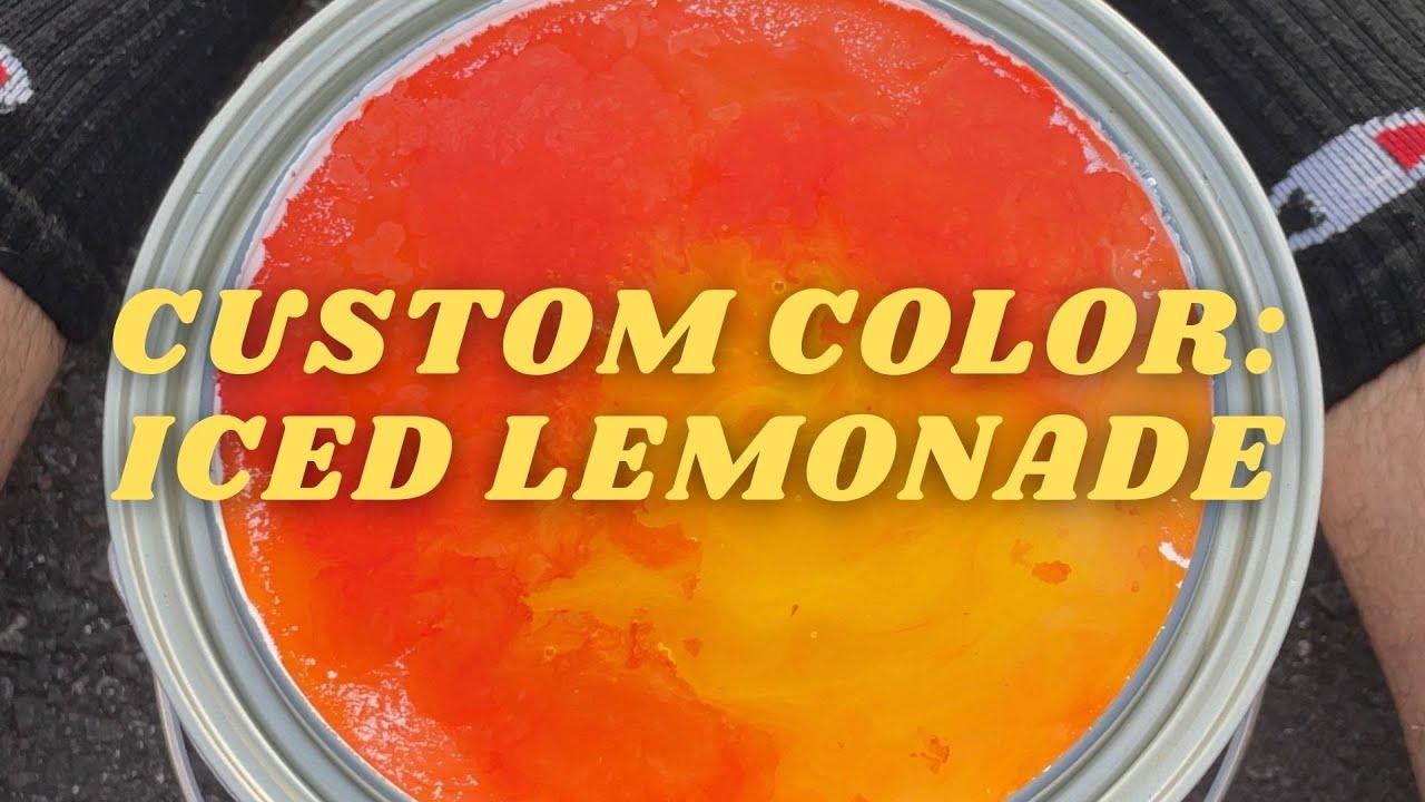 Custom Tonester Color: Iced Lemonade #shorts
