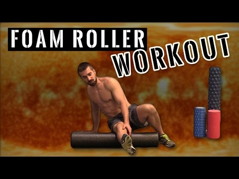 10 Minute Foam Roller Workout Routine for Total Body