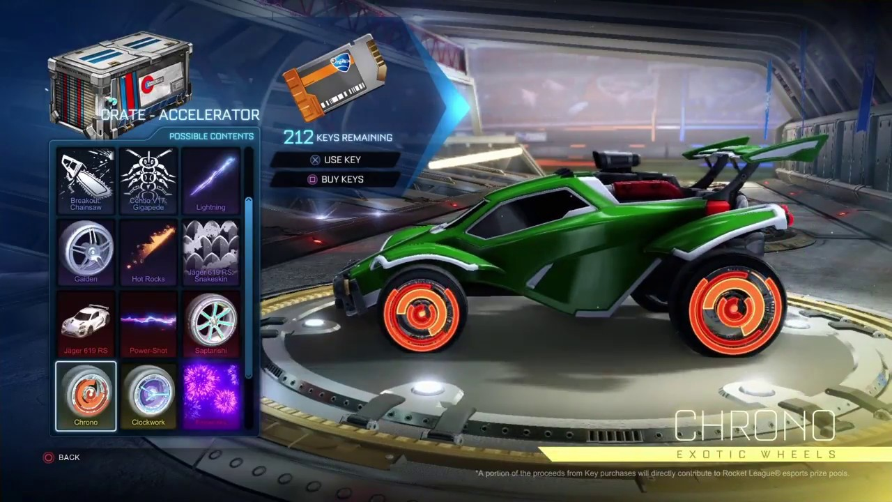 New Accelerator Crate Items Rocket League Youtube