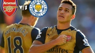 Arsenal Vs Leicester City HD (26/09/2015)
