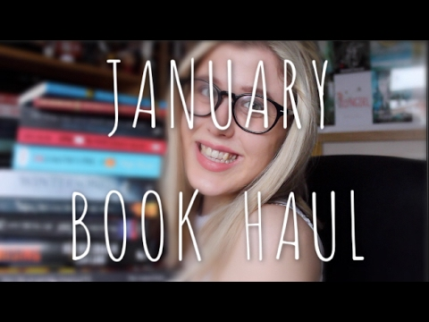 WHY DO YOU HAUL LIKE YOU'RE RUNNING OUT OF TIME? | JANUARY BOOK HAUL AND BOOK GIVEAWAY!!!