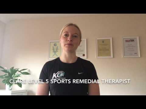 Sports Therapist Clare