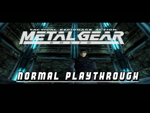 Metal Gear Solid 1 - Normal Playthrough - No Commentary