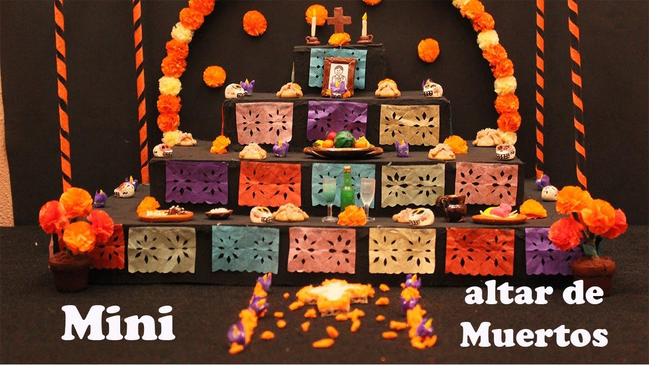Mini Altar De Muertos
