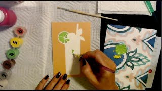 ASMR   Paint by Number Postcard 8-1-2021 (Whisper)