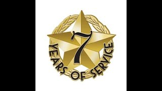 5 for 5's 7 Years of Service