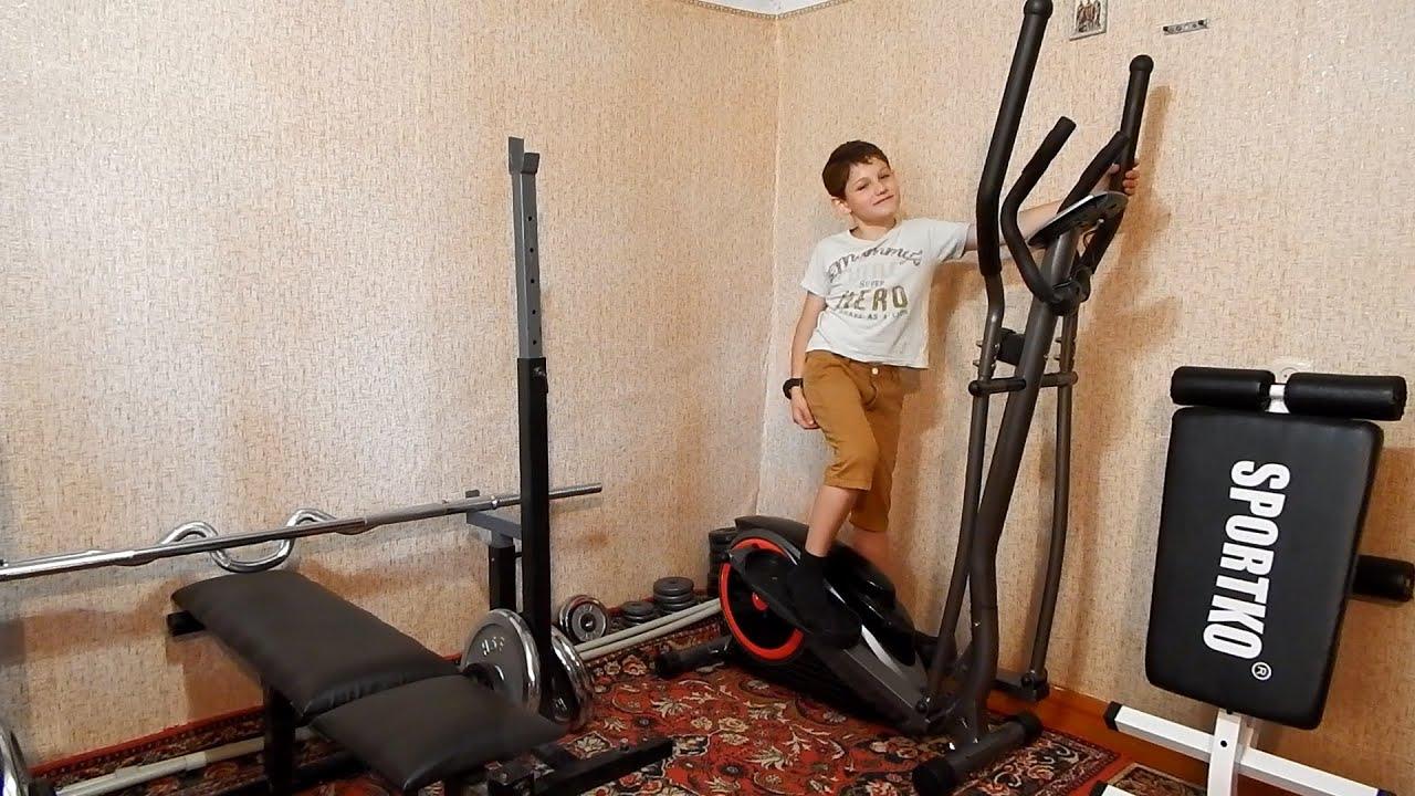 Орбитрек coden fitness et-516e. кардио-тренировка дома. дома.
