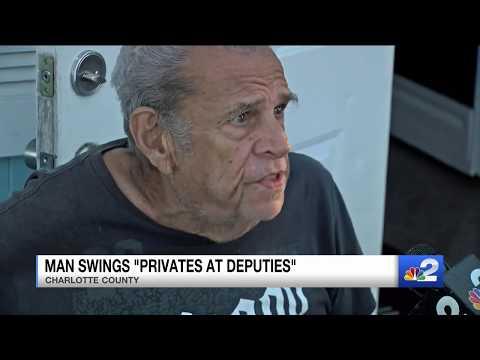 Fast Freddie - MAN SWINGS PENIS AT COPS, GETS HIT WITH A TASER