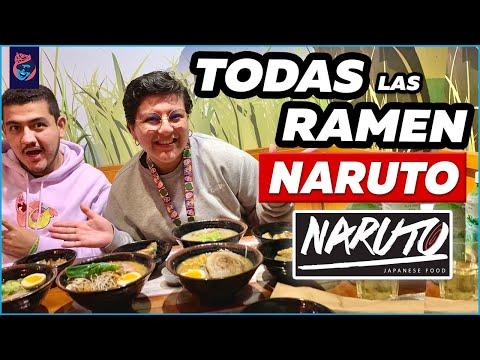 PEDIMOS TODAS LAS SOPAS RAMEN DE NARUTO  Ariana Bolo Arce