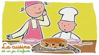 Gâteau marbré - La cuisine est un jeu d'enfants