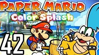 IL VOLE MON TRAIN ! | Paper Mario Color Splash #42