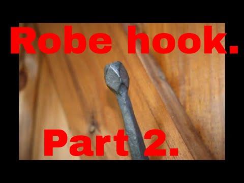 Robe hook. Part 2.