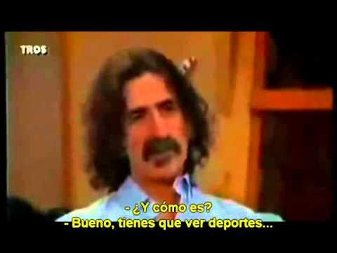 Frank Zappa sobre el consumo de cerveza