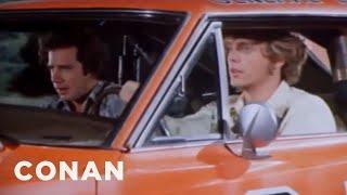 """The Dukes Of Hazzard"" Car Loses Its Confederate Flag  - CONAN on TBS"
