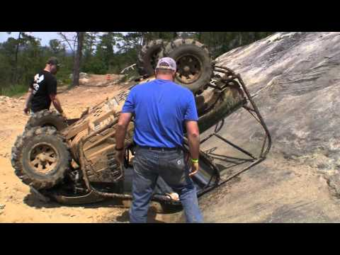 RENTAL YAMAHA RHINO CRASHES HARD