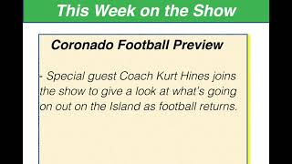 Conversation with Coronado Football Coach Kurt Hines