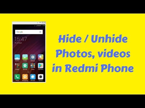 Unhide or View Hidden Files Folders or Albums Redmi Note 3 and All Xiaomi MI Phones