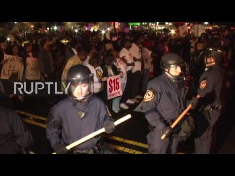 Arrests made during Fight for $15 protest in Durham, NC