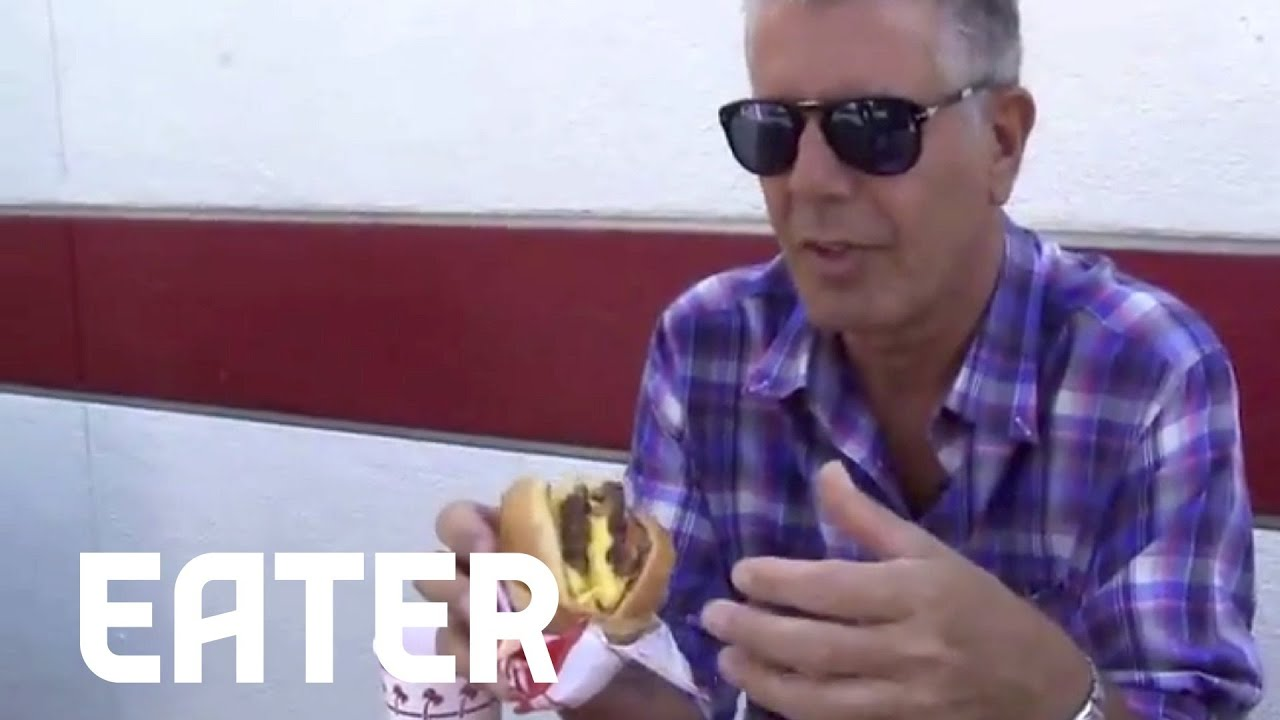 2197c93490 Anthony Bourdain on In-N-Out   My Favorite Restaurant in LA  - YouTube