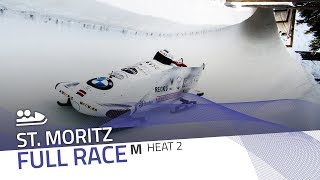 St. Moritz | BMW IBSF World Cup 2019/2020 - 2-Man Bobsleigh Heat 2 | IBSF Official