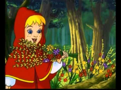 Le petit chaperon rouge dessin anime en francais youtube - Dessin chaperon rouge ...