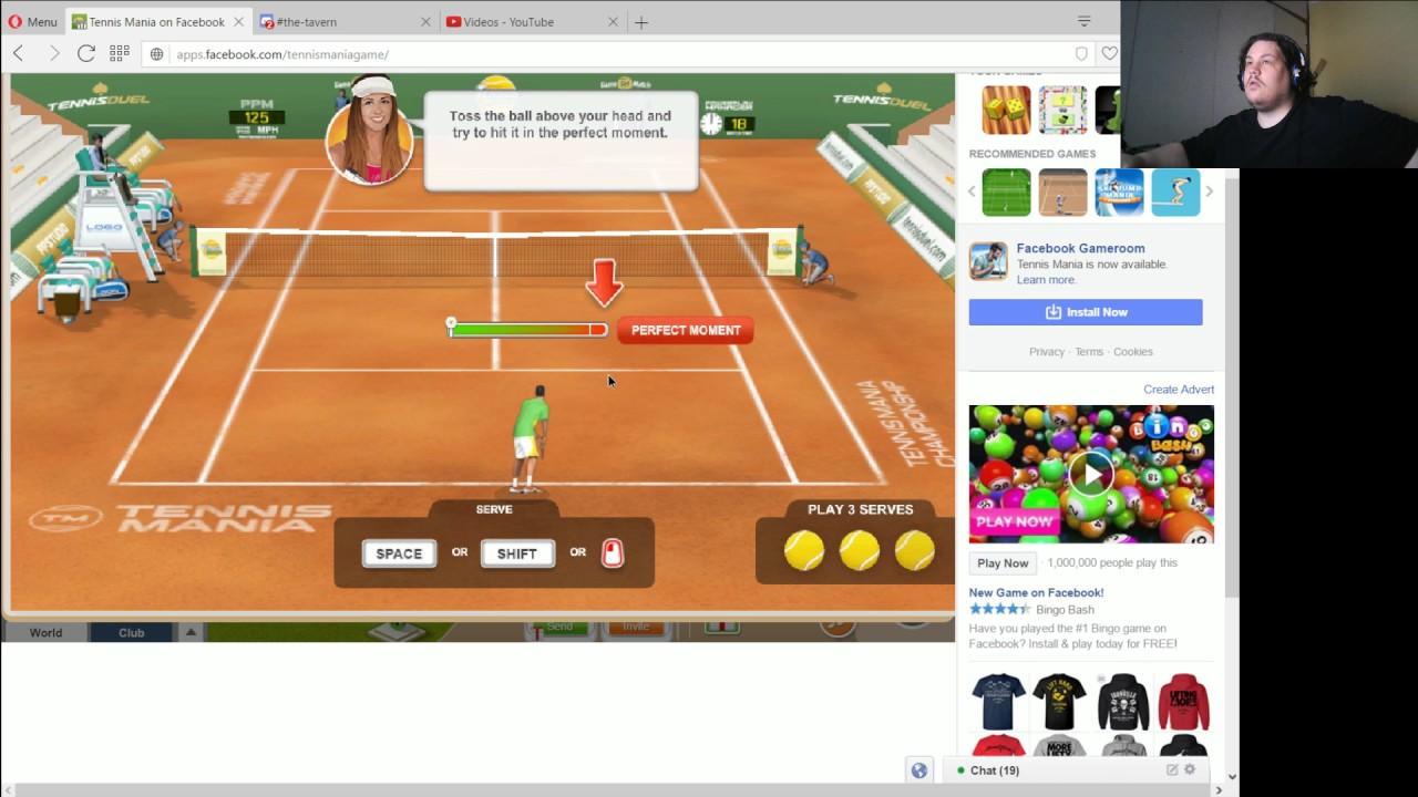 tennis mania