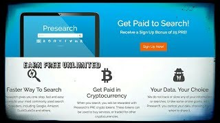 MAKE SOME MONEY BY USING SEARCH ENGINE REGESTER BONUS💪💪 (25 PRE TOKENS)