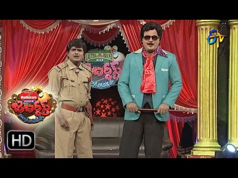 Bullet Bhaskar Sunami Sudhakar Performance   Jabardasth   8th December 2016  ETV  Telugu
