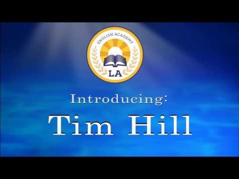 エルエー講師 ‐Tim先生の自己紹介‐