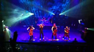 Apocalyptica - I Don't Care feat. Tipe Johnson (Live at Club Nokia 9/8/10)