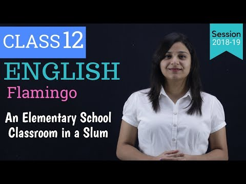 an elementary school classroom in a slum | WITH NOTES