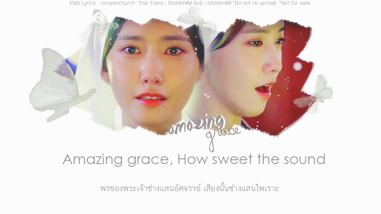 [Thaisub] Yoona (윤아) – Amazing Grace [The K2 OST. Pt. 3]