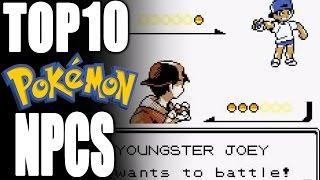 Top 10 NPCs in Pokémon (feat. CuddleofDeath) - Tamashii Hiroka