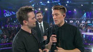 Pär Lernström prankar Danny Saucedo och Erik Segerstedt - Idol Sverige (TV4)