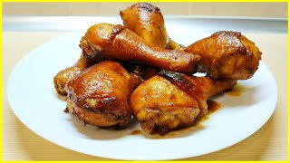 Готовлю ужин//Куриные ножки запеченные в рукаве в духовке//Молодой картофель с зеленью по деревенски