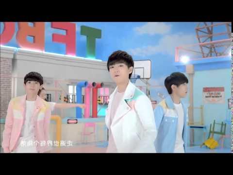 開始Youtube練舞:寵愛-TFBOYS | 尾牙表演影片