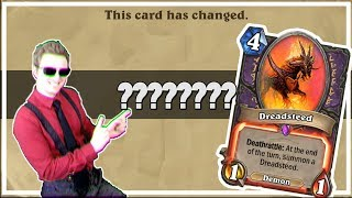 Hearthstone: How Does The New Dreadsteed Work?