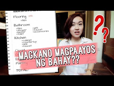 Magkano Ba Magpaayos Ng Bahay? // Budget Talk On Home Makeover // Cost Breakdown On SMDC Makeover