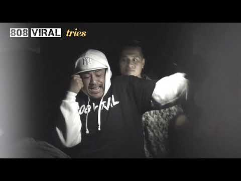 808 Viral tries Jorge Garcia's haunted house Curse of the Crypt