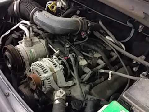 cg  dodge nitro se  engine youtube
