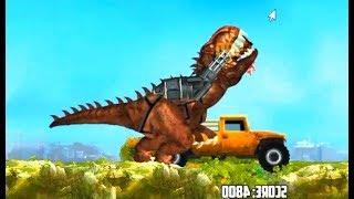 Tirano dinosaurios de México|Juego |de dibujos animados de CA