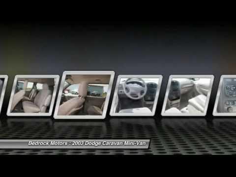 Bedrock Motors Rogers - 2003 Dodge Caravan Sport Rogers, Blaine, Minneapolis, St Paul, MN M1451