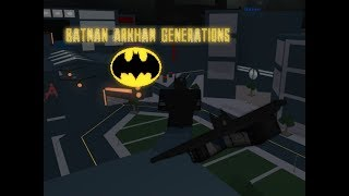 Batman's secret grappling move! | Batman Arkham Generations [Alpha] | Roblox