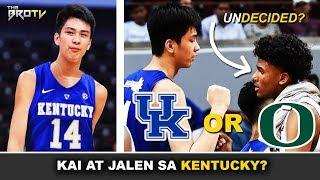 May Pag-asang Magsama sa Kentucky si Kai Sotto at Jalen Green! | Dapat Abangan ng mga Pinoy!