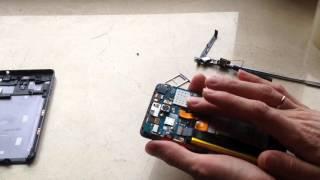 Заміна флеш пам'яті - розбирання і ремонт lenovo s860